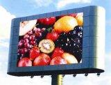 Im Freien örtlich festgelegte farbenreiche HD P6 LED-Bildschirmanzeige, die Vorstand bekanntmacht