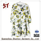 OEM Women's Sweet fleur robe Pattern