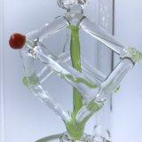 High-End van de pijp van Waterpipe van het Glas van de Doos van Hotsell Draaiend In het groot Heady Glas