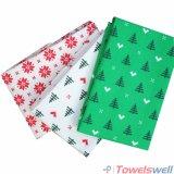 Do algodão do Natal da cozinha toalha 100% de chá