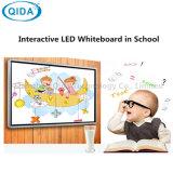 De Verklaarde MultiAanraking 65inch van Ce RoHS allen in Vensters Androïde Elektrische Whiteboard van Één de Dubbele Systeem voor Onderwijs
