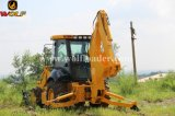 Backhoe quente do carregador Jx45 do lobo da venda