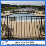 Clôture résidentielle de piscine de fer travaillé