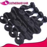 Объемной волны волос девственницы рождества волосы популярной Weft бразильские