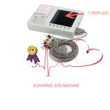 Cor de 3 canais digitais ECG eletrocardiográficas (ECG-903A3) -Fanny