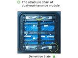 Chipshow Ad20 Dual-Maintenance la publicité de plein air Module d'affichage à LED