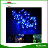 Indicatore luminoso solare solare della stringa dei 200 del LED indicatori luminosi di natale per il giardino domestico che decora