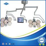 Lumière chirurgicale Shadowless de DEL avec l'appareil-photo (SY02-LED3+5-TV)