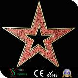 第2クリスマスの屋外の装飾のためのモチーフの星ライト