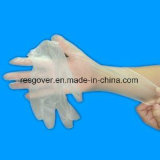 Одноразовые изучение виниловых перчаток графитового порошка
