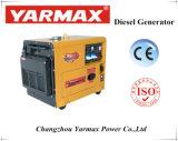 5.5KVA Yarmax económico y portátil tipo silencioso Generador Diesel