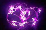 Im Freien 60 LED/100 LED/200 LED-kupferner Draht-Solarlichter