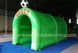 Neuer Auslegung-Sport-Arena-aufblasbarer Fußball-Kies