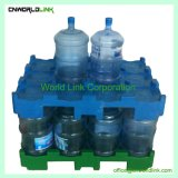 Le PEHD empilable de 240 kg de plastique bouteille d'eau potable des palettes