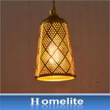 Modrom estilo retro Hot vender Perforadora de metal de la luz colgante