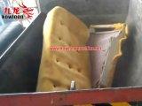 Desfibradora gemela de los muebles de la basura del hogar del eje