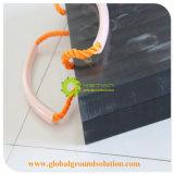 PE материал UHMWPE раунда HDPE безопасности Outrigger тормозных колодок