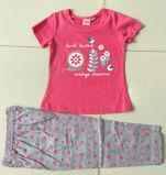 아이 착용 Bb 401에 있는 여름 여자 아기 파자마 아이들의 한 벌