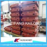 Staffa di fonderia di modellatura della macchina dell'alto pezzo di produzione