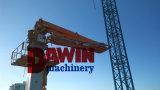 Eficacia alta del modo hidráulico completo del mecanismo impulsor y auge de colocación concreto de elevación ahorro de energía de la torre