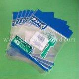 Sacs OPP imprimé personnalisé avec oeillet de suspension