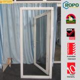 Projetos interiores/exteriores do perfil branco da cor UPVC da porta da rua