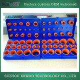 Peças sobresselentes profissionais da borracha de silicone do fabricante