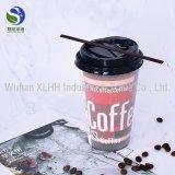 Abnehmer gedrucktes doppel-wandiges Papiercup für heißen Kaffee