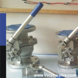 API 6D Floating 2 PCS Split Body C.S/CS Ball Valve
