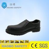 Тисненая кожа Cow стальную пластину обувь
