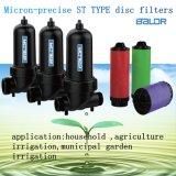 St de Filter van de Schijf van het Water van het Type/De Filter van de Behandeling van het Water van de Cursus van het Golf van de Tuin van de Druppelbevloeiing