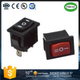Interruptor basculante em miniatura Single-Pole Rocker Switch