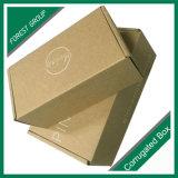 로고 없는 서류상 물결 모양 화물 박스