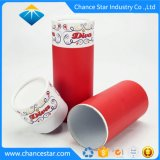 ギフトの包装のために薄板になるカスタム印刷の堅いペーパー管