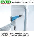 Термореактивное электростатическое покрытие порошка цвета Blacl брызга Semi лоснистое ровное для радиатора топления