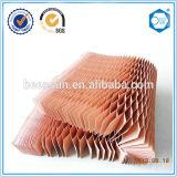 Base de panal de enfriamiento del papel del uso de la pista del panal de los productos de calidad de Hight