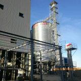 En la granja de acero de silo de almacenamiento de granos