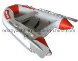 Mini barca di alluminio di velocità con il PVC o il tubo gonfiabile di Hypalon