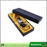 Cuoio Keychain del doppio anello