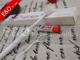 De Goedkope Witte Plastic Tandenborstel van uitstekende kwaliteit van de Prijs