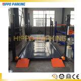 4 alzamientos simples del estacionamiento del coche del poste para el garage 8000lbs