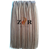 De donkere Band van het Haar van de Kleur Dubbel Getrokken Chinese in de Uitbreiding van het Haar
