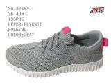 Schoenen van de Voorraad van Flyknit van de Schoenen van de Sport van vrouwen de Comfortabele