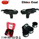 Canon de rangée de Rebar de batterie d'approvisionnement d'usine de la Chine attachant la machine