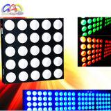 luz de la matriz de la anteojera de 25X30W RGB LED