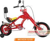 """12人の""""子供のKtのコースターブレーキが付いている脂肪質のタイヤのHarleyのバイクのチョッパーのバイク"""