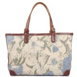 Lady Fashion Printing Canvas Handbag (RS-8589A)