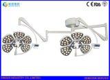 Lámpara Shadowless ajustable de la operación del techo de la luminancia LED del equipo del hospital