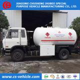 15000litros cilindro de gás GLP móveis os caminhões de entrega Bobtail caminhão tanque para vendas