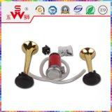 Haut-parleur bi-directionnel d'or de klaxon d'air